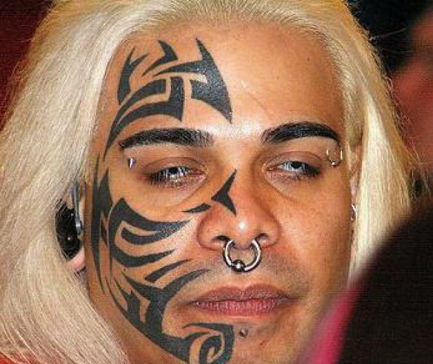 mike tyson tribal face tattoo cool tattoos online. Black Bedroom Furniture Sets. Home Design Ideas