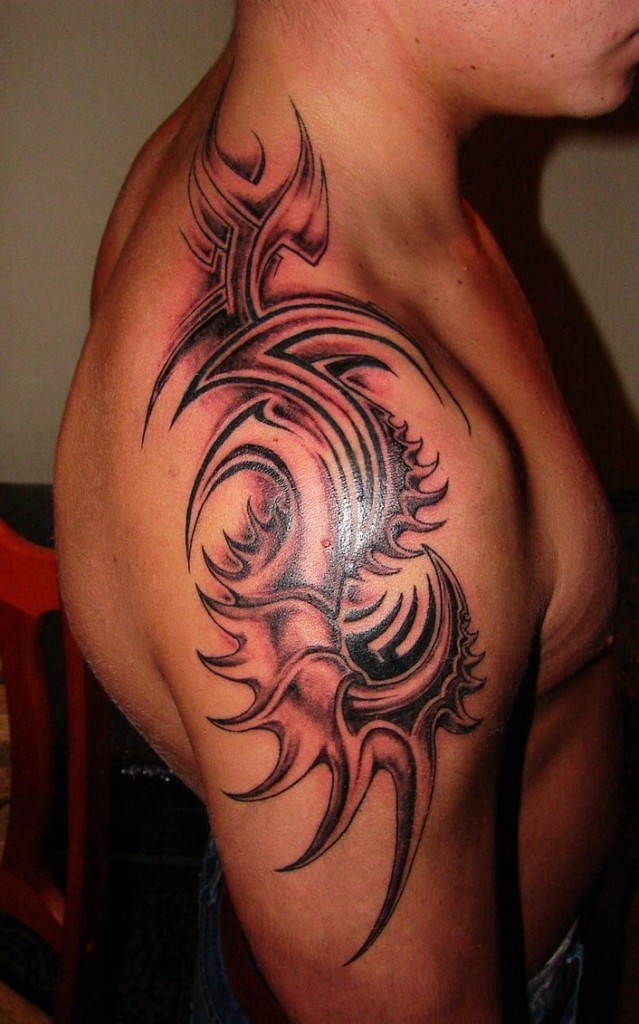Dragon Claw Tribal Tattoo
