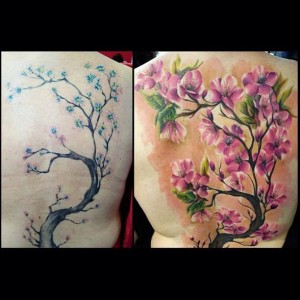 Example of Cover Up Tattoo