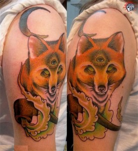 Mystic Fox Tattoo