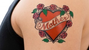 Love for Mom Tattoo