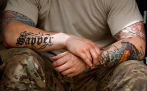 U.S. Soldier Sleeve Tattoos