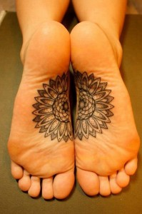 Tattoo On Bottom Of Feet