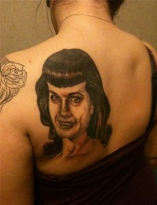 Bad Tattoo:  Bettie Page
