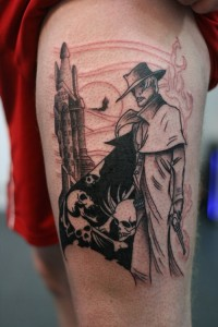 Roland and the Dark Tower Tattoo