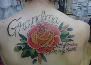 Tattoo in Honor of Grandma