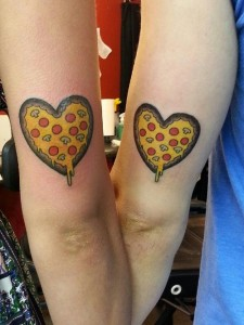 Tattoo for Pizza Lovers
