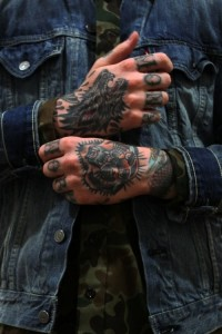 Bad ass mobster style tattoo