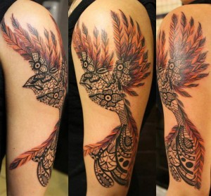 Dreamland Bird Tattoo