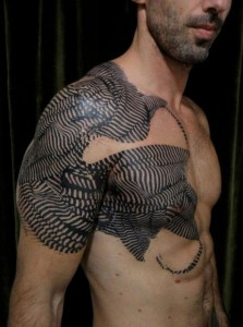 Cool Sting Ray Tattoo Sleeve