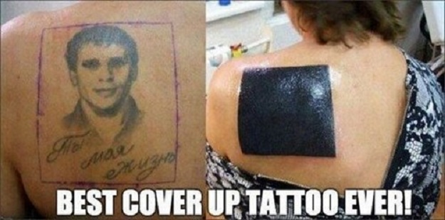 Funniest cover up tattoo cool tattoos online for Cool cover up tattoos