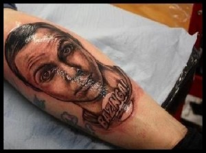 Sheldon Cooper Tattoo Bazinga