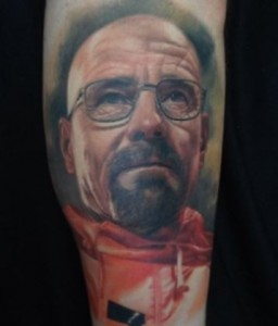 Breaking Bad Walter White Tattoo