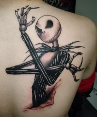 Jack Skellington Halloween Tattoo