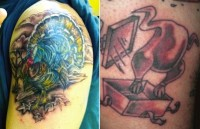 Funny Turkey Tattoos